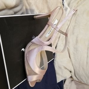 NINA Blush crystal sandals
